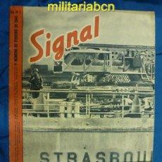 Militaria: ALEMANIA III REICH. REVISTA SIGNAL. EN CASTELLANO. Nº 3 FEBRERO 1943.. Lote 42389093