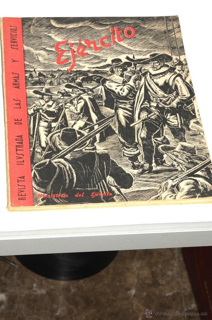 REVISTA ILUSTRADA DE LAS ARMAS Y SEVICIOS EJERCITO AÑO 1943 Nº 47 (Militar - Revistas y Periódicos Militares)