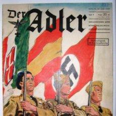 Militaria: REVISTA DER ADLER 1939 !! SONDERHEFT NUMERO ESPECIAL DEDICADO A LA LEGION CONDOR GUERRA CIVIL ESPAÑA. Lote 42559169
