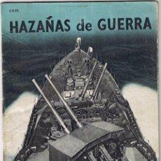 Militaria: REVISTA HAZAÑAS DE GUERRA - S.N. 22 - ENERO 1941 - . Lote 42609614