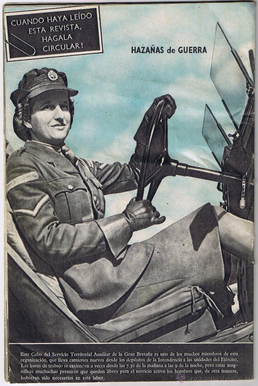 Militaria: REVISTA HAZAÑAS DE GUERRA - S.N. 22 - ENERO 1941 - - Foto 2 - 42609614