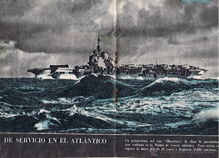 Militaria: REVISTA HAZAÑAS DE GUERRA - S.N. 22 - ENERO 1941 - - Foto 3 - 42609614