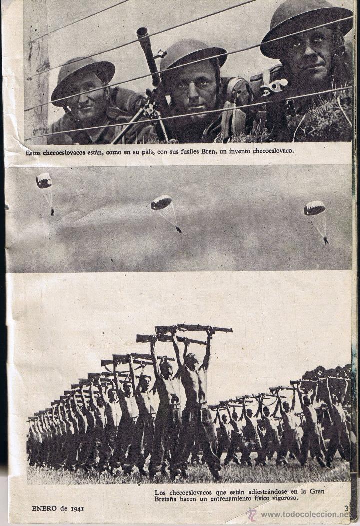 Militaria: REVISTA HAZAÑAS DE GUERRA - S.N. 22 - ENERO 1941 - - Foto 4 - 42609614