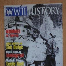 Militaria: WORLD WAR II HISTORY (HISTORIA DE LA 2ª GUERRA MUNDIAL). NOVIEMBRE 2004. TEXTO EN INGÉS.. Lote 43112267
