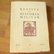 Militaria: REVISTA DE HISTORIA MILITAR AÑO XVI 1971 NUMERO 30. Lote 43214823