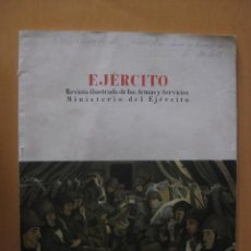 Militaria: EJERCITO Nº194 REVISTA ILUSTRADA DE LAS ARMAS Y SERVICIOS MINISTERIO DEL EJERCITO 1956 . Lote 43231082