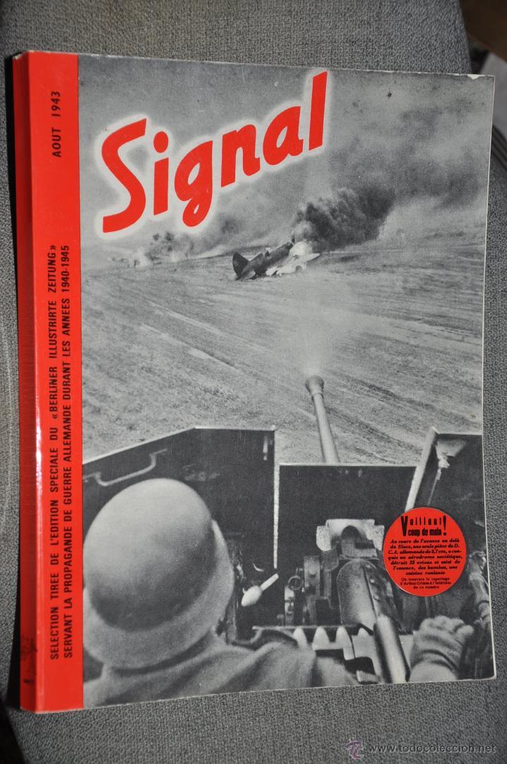 SIGNAL REVISTA CON PROPAGANDA MILITAR ALEMANA NAZI AÑO 1973 (Militar - Revistas y Periódicos Militares)
