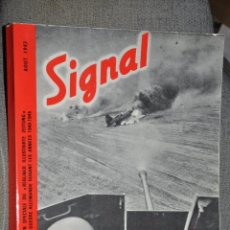 Militaria: SIGNAL REVISTA CON PROPAGANDA MILITAR ALEMANA NAZI AÑO 1973. Lote 43562638