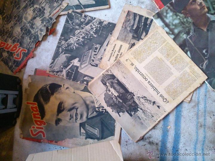 LOTE DE REVISTAS SIGNAL EN ESPAÑOL (Militar - Revistas y Periódicos Militares)