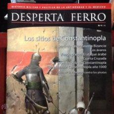 Militaria: DESPERTA FERRO ANTIGUA Y MEDIEVAL. N. 4 . LOS SITIOS DE CONSTANTINOPLA.REVISTA DE HISTORIA MILITAR. Lote 136818937