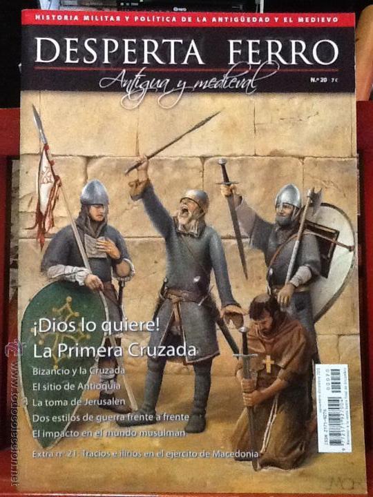 DESPERTA FERRO ANTIGUA Y MEDIEVAL N.20 - PRIMERA CRUZADA.REVISTA DE HISTORIA MILITAR (Militar - Revistas y Periódicos Militares)