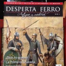 Militaria: DESPERTA FERRO ANTIGUA Y MEDIEVAL N.20 - PRIMERA CRUZADA.REVISTA DE HISTORIA MILITAR. Lote 91635215
