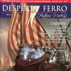 Militaria: DESPERTA FERRO HISTORIA MODERNA. N.6. LEPANTO. REVISTA HISTORIA MILITAR. Lote 133738486