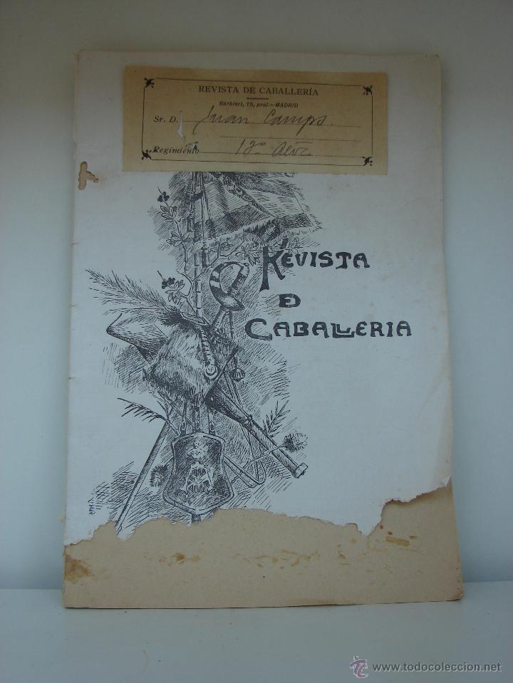 REVISTA DE CABALLERIA. MAYO DE 1916. NUMERO 167 (Militar - Revistas y Periódicos Militares)