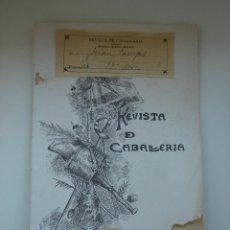 Militaria: REVISTA DE CABALLERIA. MAYO DE 1916. NUMERO 167. Lote 44378779