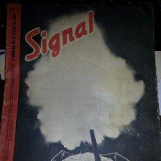 Militaria: SIGNAL Nº20 OCTUBRE 1942. Lote 44601655