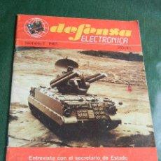 Militaria: REVISTA DEFENSA ELECTRONICA N.1 1985. Lote 44675773