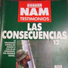 Militaria: DOSSIER NAM. TESTIMONIOS Nº 12 LAS CONSECUENCIAS - VV. AA.. Lote 53618757