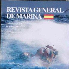 Militaria: MARINA - REVISTA GENERAL DE MARINA, TOMO 253, OCTUBRE 2007. Lote 45065304