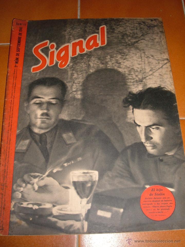REVISTA SIGNAL, 1941 (Militar - Revistas y Periódicos Militares)