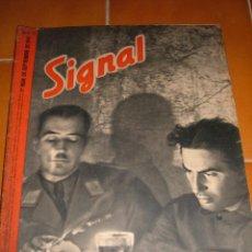 Militaria: REVISTA SIGNAL, 1941. Lote 45173998