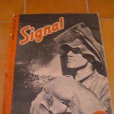 Militaria: REVISTA SIGNAL, 1942. Lote 45174145