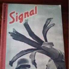 Militaria: REVISTA SIGNAL Nº 21 NOVIEMBRE 1941 CASTELLANO. Lote 45407403