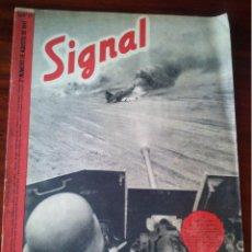 Militaria: REVISTA SIGNAL Nº 16 AGOSTO 1941 CASTELLANO. Lote 45407541