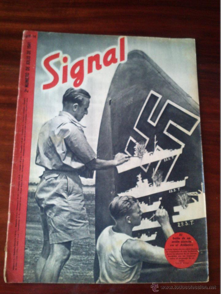REVISTA SIGNAL Nº 14 JULIO 1941 CASTELLANO (Militar - Revistas y Periódicos Militares)