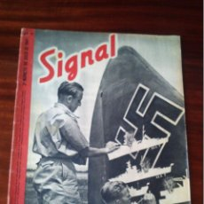 Militaria: REVISTA SIGNAL Nº 14 JULIO 1941 CASTELLANO. Lote 45407697