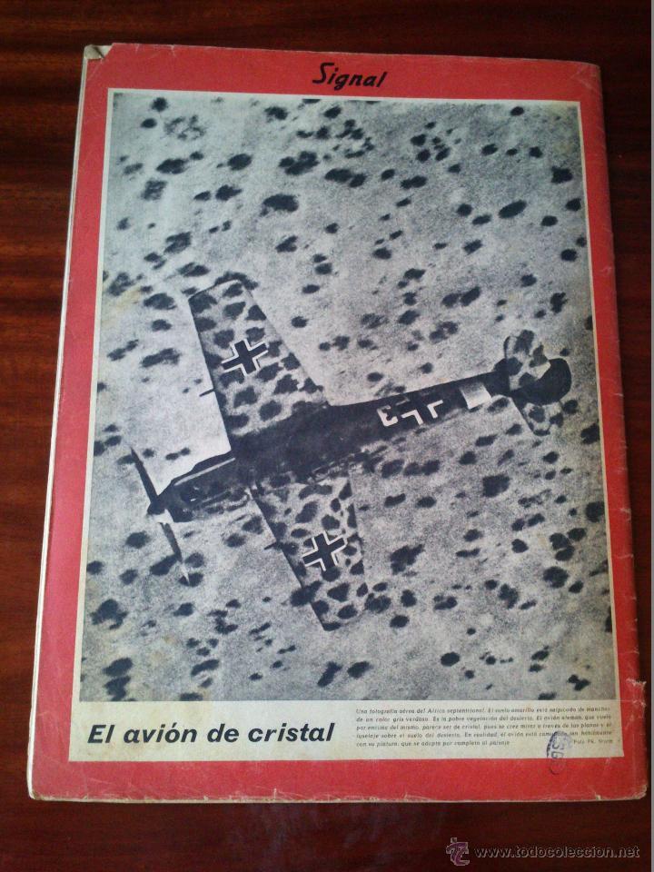 Militaria: REVISTA SIGNAL Nº 14 JULIO 1941 Castellano - Foto 4 - 45407697