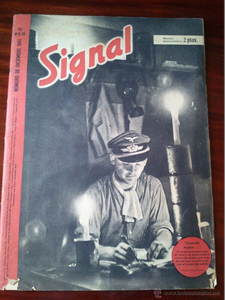 REVISTA SIGNAL Nº 23-24 DICIEMBRE 1941 CASTELLANO (Militar - Revistas y Periódicos Militares)