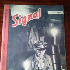 Militaria: REVISTA SIGNAL Nº 23-24 DICIEMBRE 1941 CASTELLANO. Lote 45407807