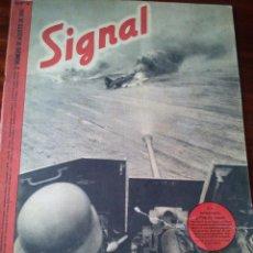 Militaria: REVISTA SIGNAL Nº 16 AGOSTO 1941 CASTELLANO. Lote 45407913