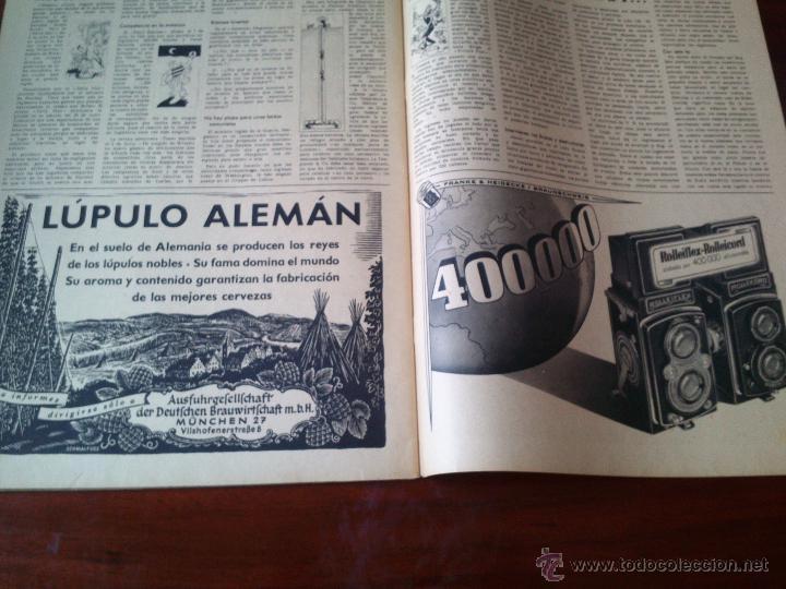 Militaria: REVISTA SIGNAL Nº 16 AGOSTO 1941 Castellano - Foto 4 - 45407913