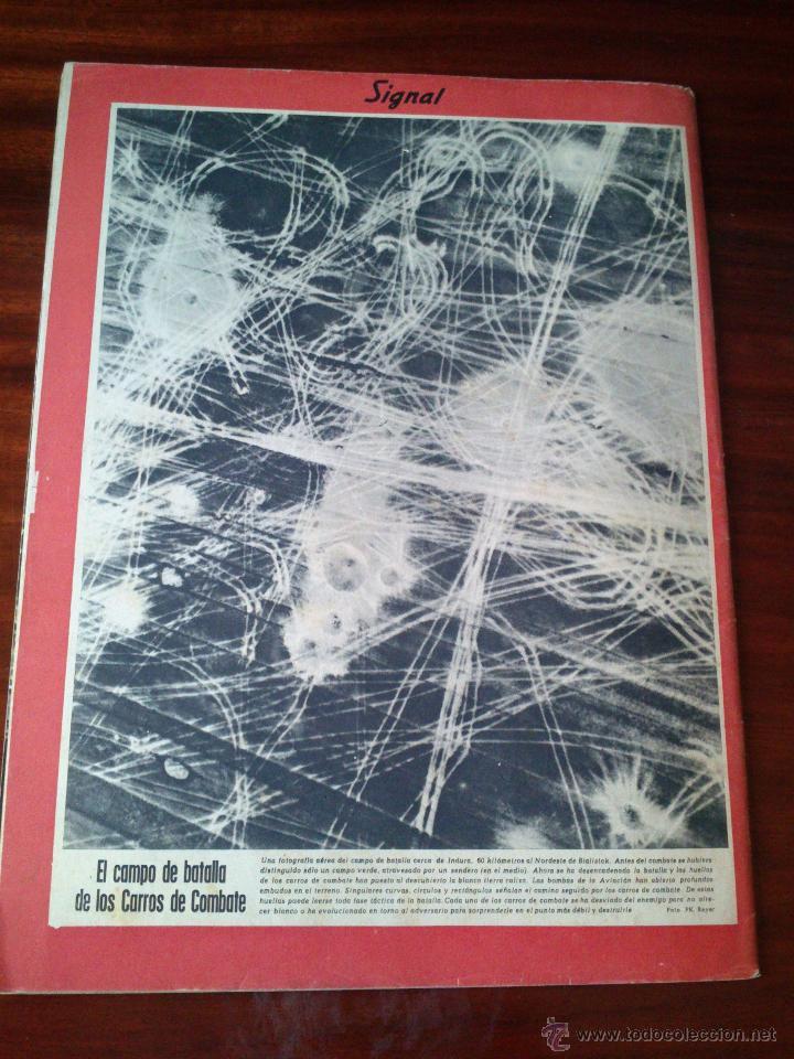 Militaria: REVISTA SIGNAL Nº 16 AGOSTO 1941 Castellano - Foto 5 - 45407913