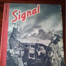 Militaria: REVISTA SIGNAL Nº 22 NOVIEMBRE 1941 CASTELLANO. Lote 45408011
