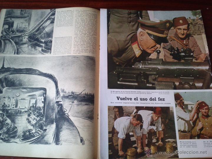 Militaria: REVISTA SIGNAL Nº 22 NOVIEMBRE 1941 CASTELLANO - Foto 2 - 45408011