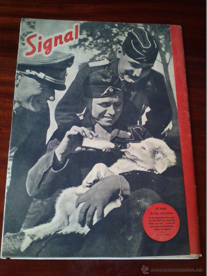 Militaria: REVISTA SIGNAL Nº 22 NOVIEMBRE 1941 CASTELLANO - Foto 3 - 45408011