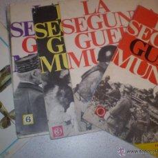 Militaria: 96 FASCICULOS SEGUNDA GUERRA MUNDIAL CODEX EDITORIAL S.A. 1967. Lote 45658291