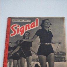 Militaria: REVISTA SIGNAL 1941 ORIGINAL. Lote 45743759