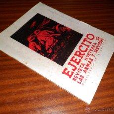 Militaria: EJERCITO. REVISTA ILUSTRADA DE LAS ARMAS Y SERVICIOS. Nº 63 ABRIL 1945. Lote 46831833