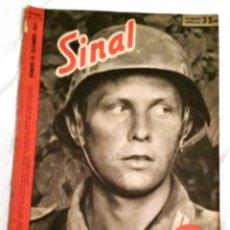 Militaria: SINAL - SIGNAL Nº 23/24 1942 DOBLE-ED. PO. REVISTA ALEMANA PORTUGUESA RARA LOGO DIFERENTE III REICH. Lote 47068359
