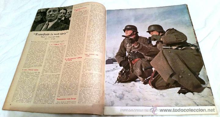 Militaria: Signal nº 5 1942 Ed. B. Revista Alemana Búlgara - MUY RARO Propaganda Aleman III Reich en Cirilico - Foto 3 - 47068958