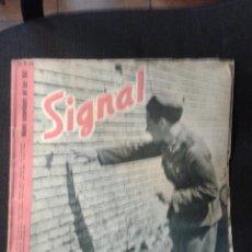 Militaria: SIGNAL Nº 24 1943 ED. SP. ESPAÑOL REVISTA ALEMANA II GUERRA MUNDIAL ESPECIAL TROPAS ESTE III REICH.. Lote 47288644