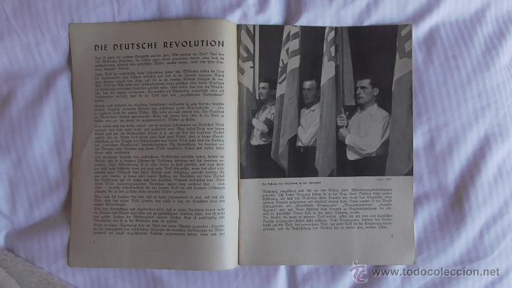 Militaria: LOTE TRES REVISTAS ROLAND DEDICADAS A LA MUJER DURANTE EL TERCER REICH. ORIGINAL DE ÉPOCA.1938/39 - Foto 5 - 177088975