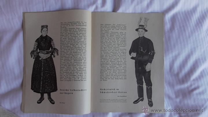 Militaria: LOTE TRES REVISTAS ROLAND DEDICADAS A LA MUJER DURANTE EL TERCER REICH. ORIGINAL DE ÉPOCA.1938/39 - Foto 6 - 177088975