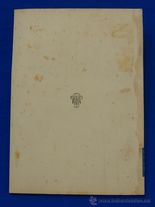 Militaria: REVISTA GENERAL DE LA MARINA. OCTUBRE [AÑO] 1949. [pertenece a] TOMO 137. E. M. de la Armada - Foto 2 - 47587363
