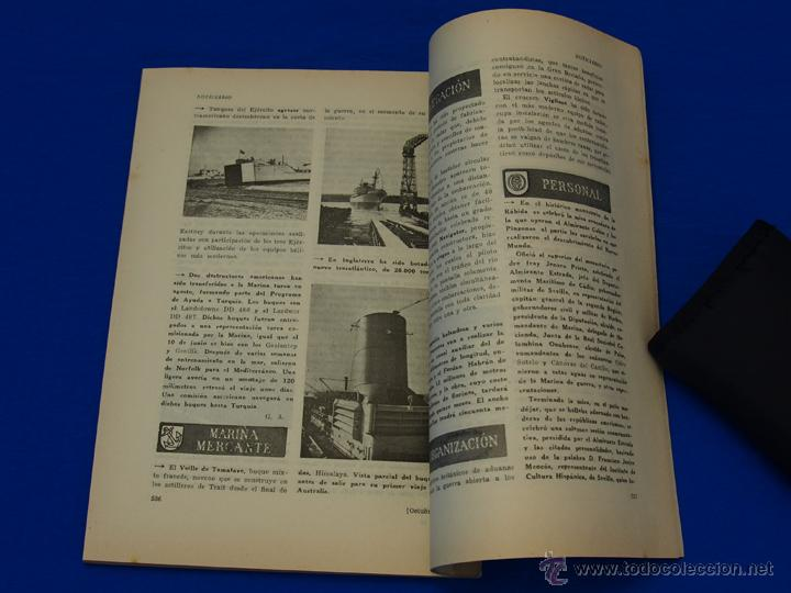 Militaria: REVISTA GENERAL DE LA MARINA. OCTUBRE [AÑO] 1949. [pertenece a] TOMO 137. E. M. de la Armada - Foto 6 - 47587363