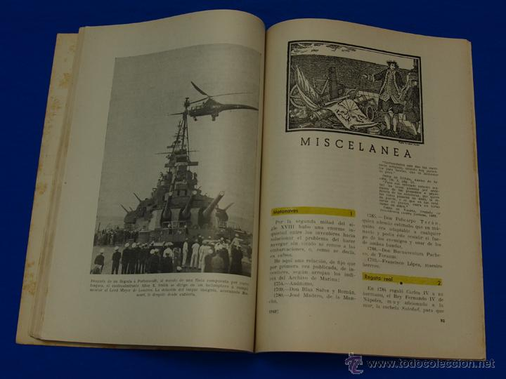 Militaria: REVISTA GENERAL DE LA MARINA. JULIO [AÑO] 1949. [pertenece a] TOMO 137. E. M. de la Armada - Foto 6 - 47596239
